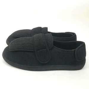 Foamtreads Mens Physician M2 Slippers Black Sz 10